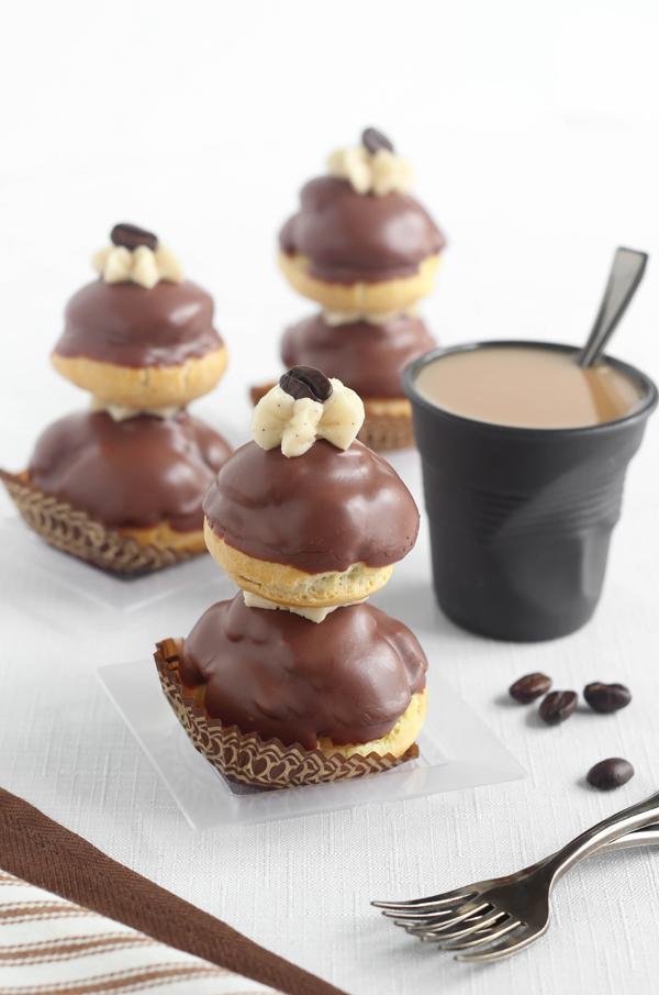 Espresso Religieuse (Caffeinated Nuns)