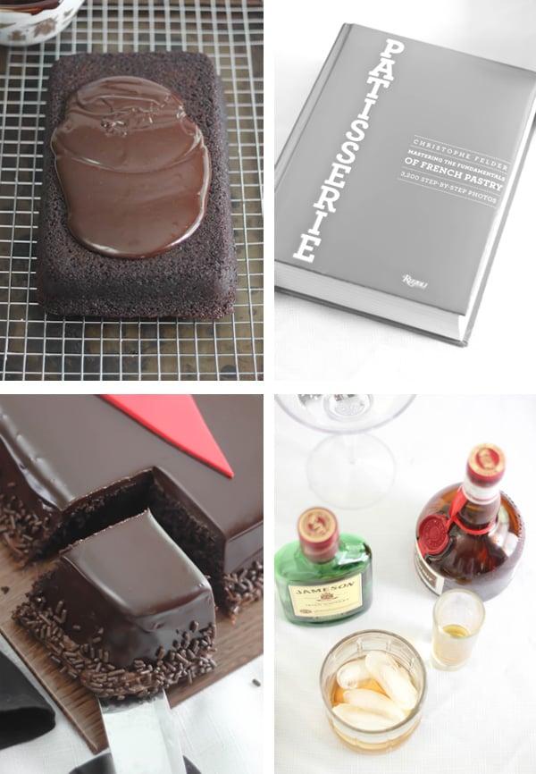 Gentlemen's Chocolate Whiskey Cake