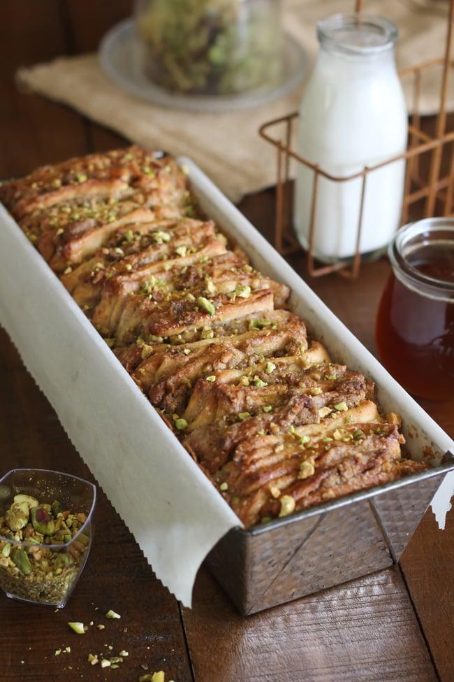 Baklava Pull-Apart Bread
