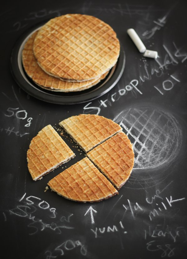 Homemade Stroopwafels