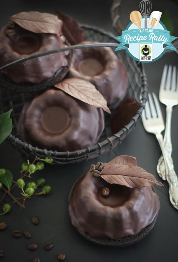 Baby Chocolate Bundt Cakes