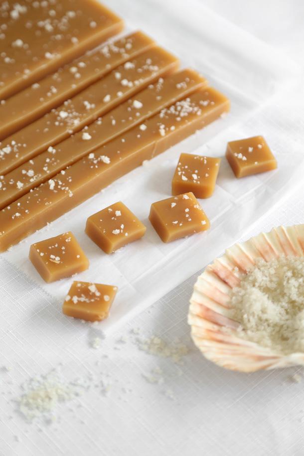 Microwave Grey Sea Salt Caramels