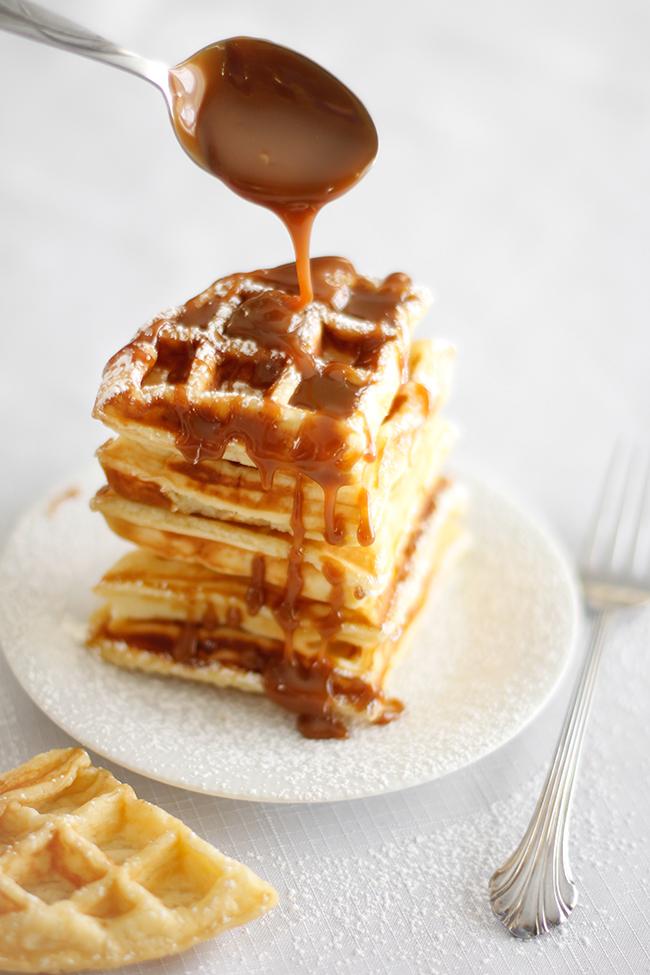 Waffled Cheesecake