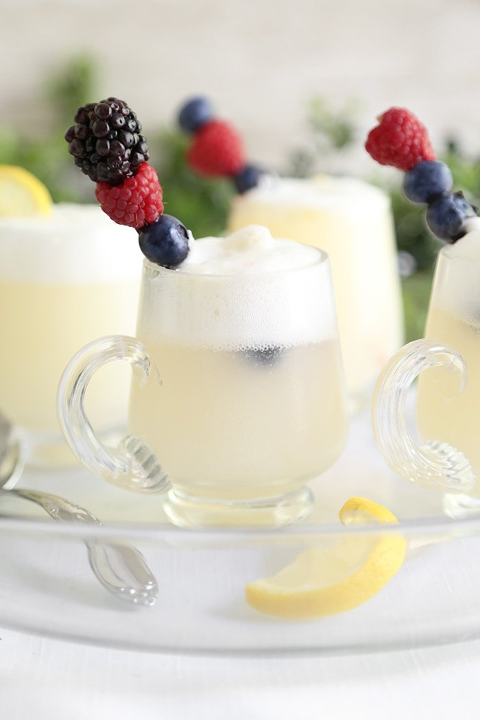 Lemon Sorbet Punch