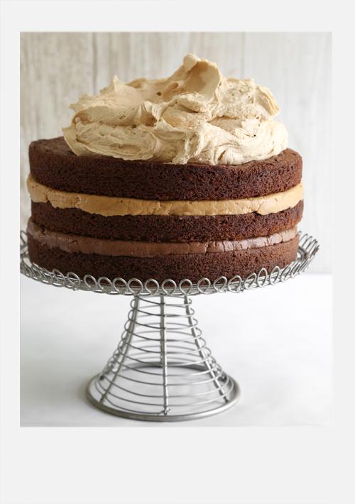 Malted Nutella and Biscoff Brownie Torte