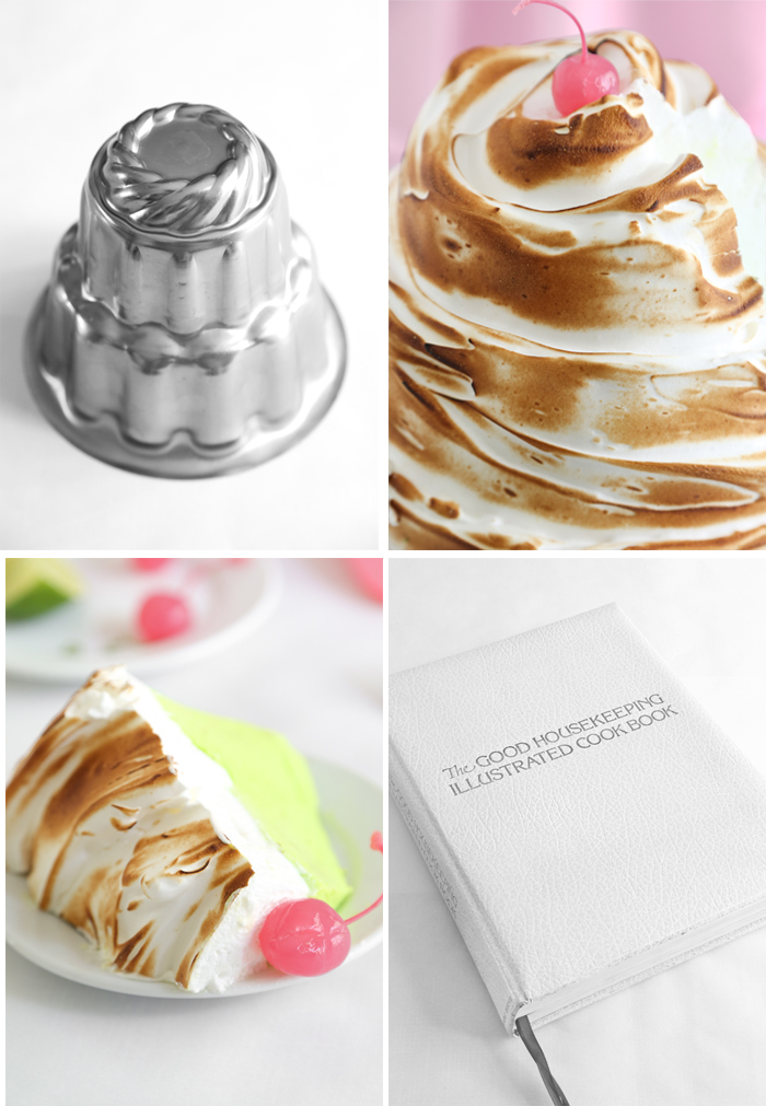 Lime Soufflé with Toasted Meringue