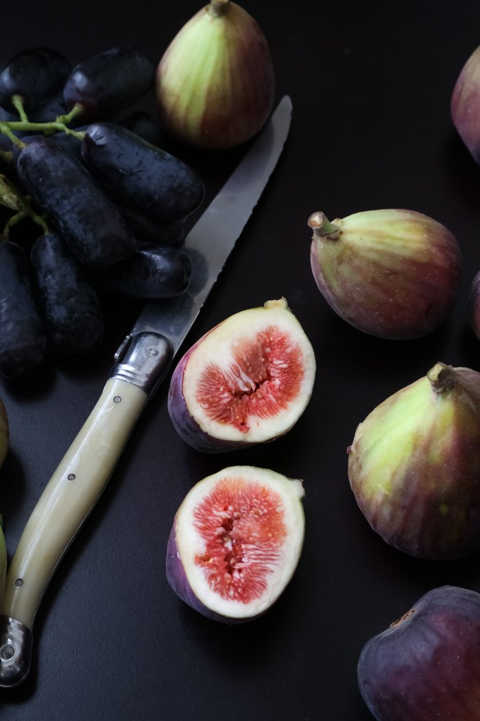 Mascarpone Stuffed Fresh Figs