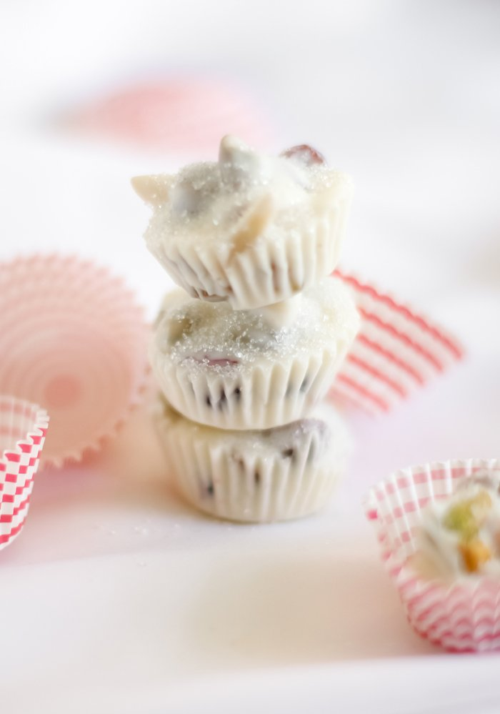 Fruit and Nut Candy Cups