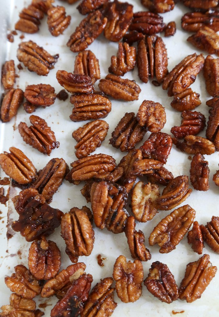 Five Spice Candied Pecans