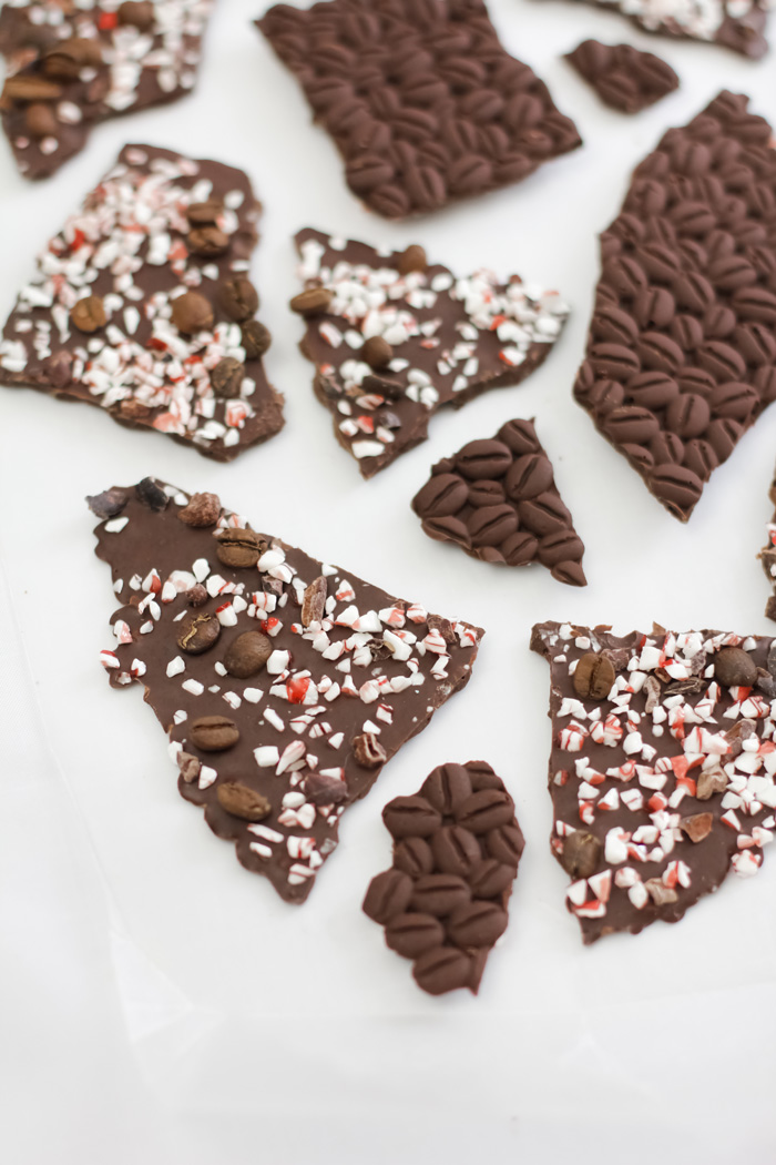 Peppermint Mocha Bark