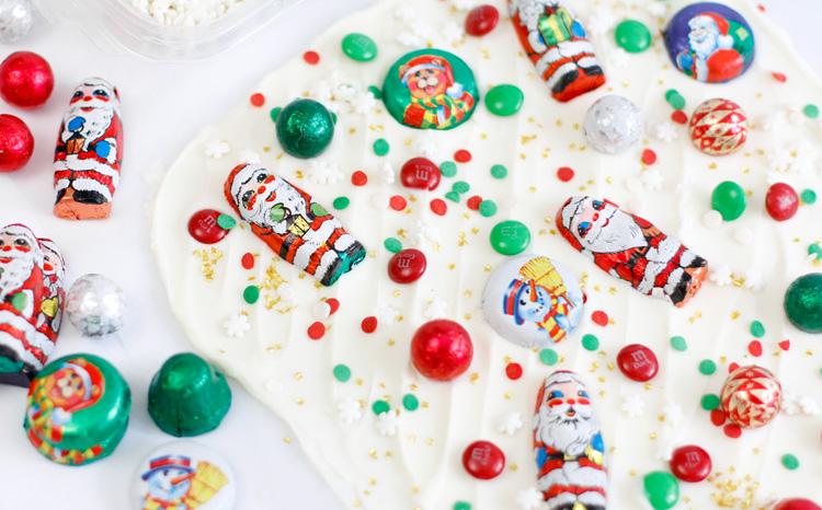 Santa's Candy Bark