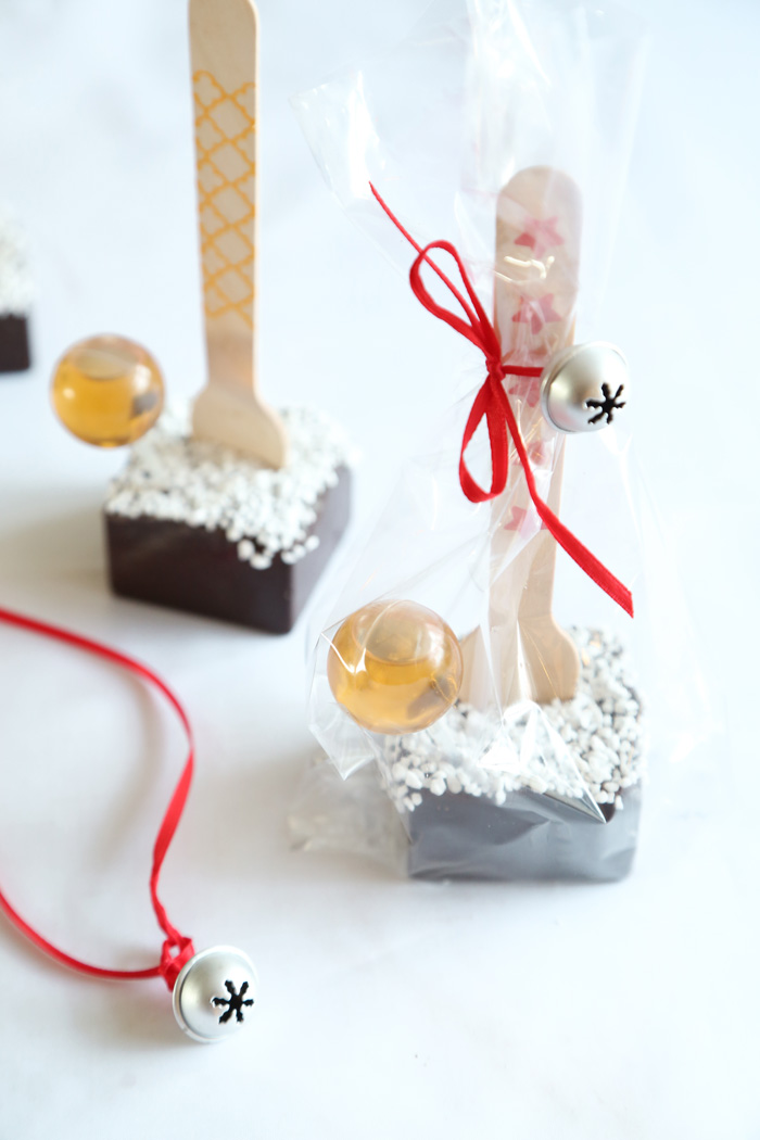 Spiked Hot Chocolate on a Stick