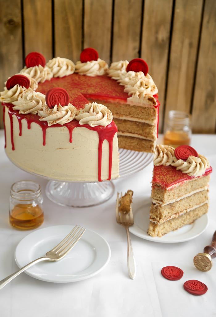 Bourbon Vanilla Layer Cake