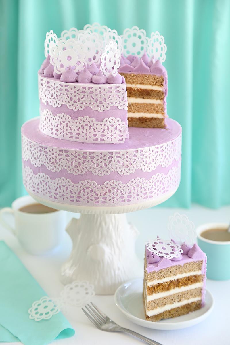 Earl Grey au Lait Cake
