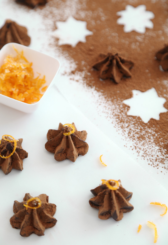 Dark Chocolate Grand Marnier Truffles