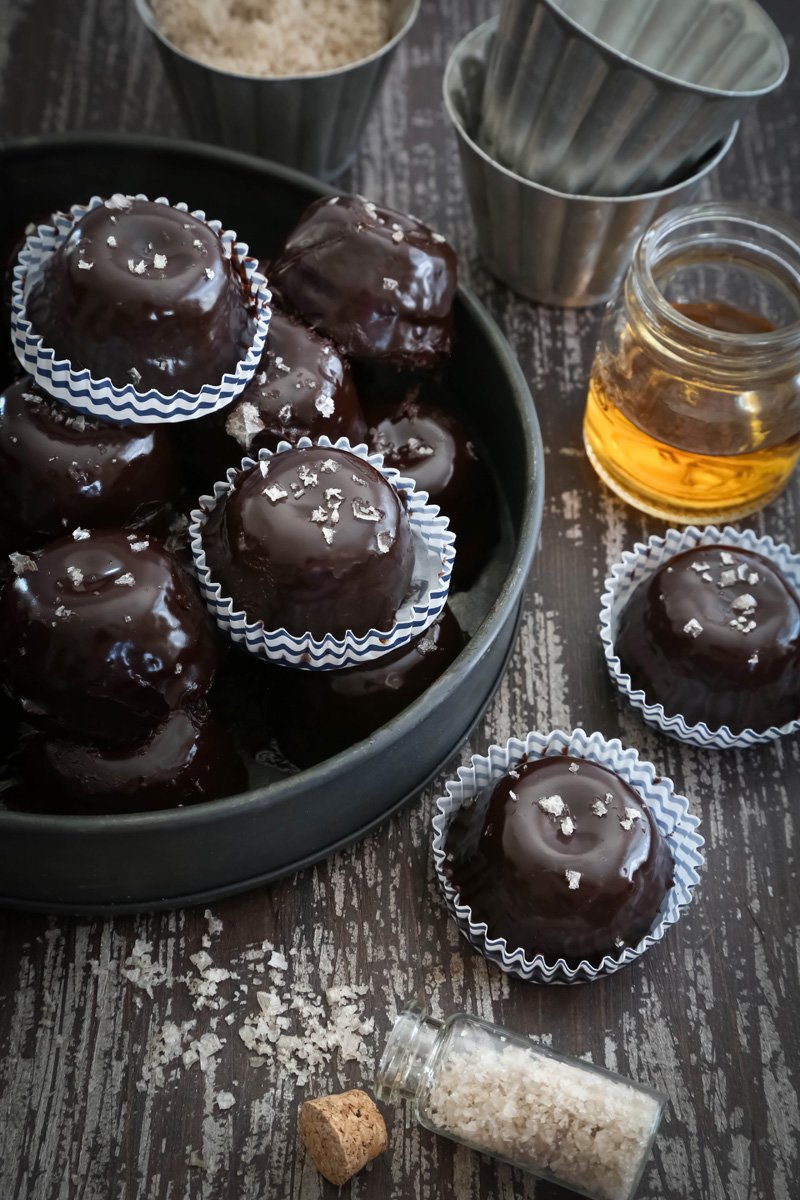 Chocolate Bourbon Petits Fours