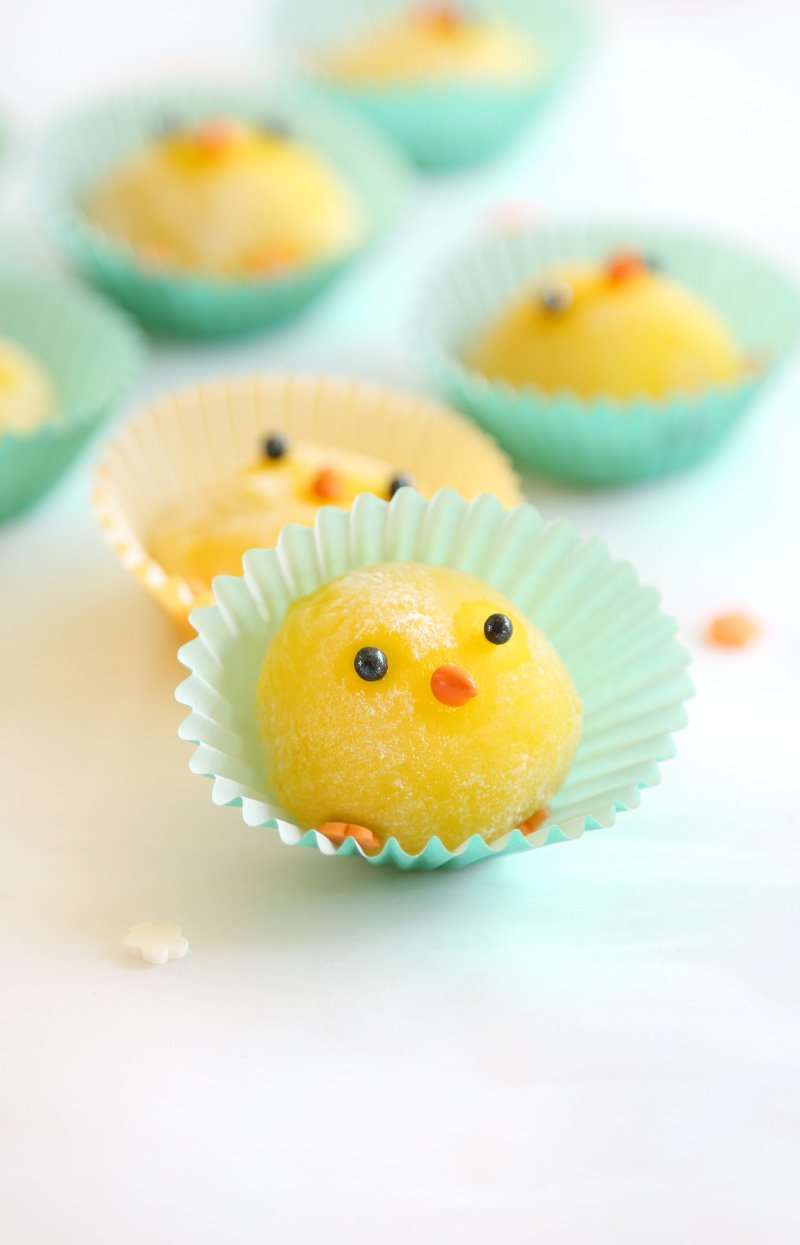 Lemon Mochi Chicks