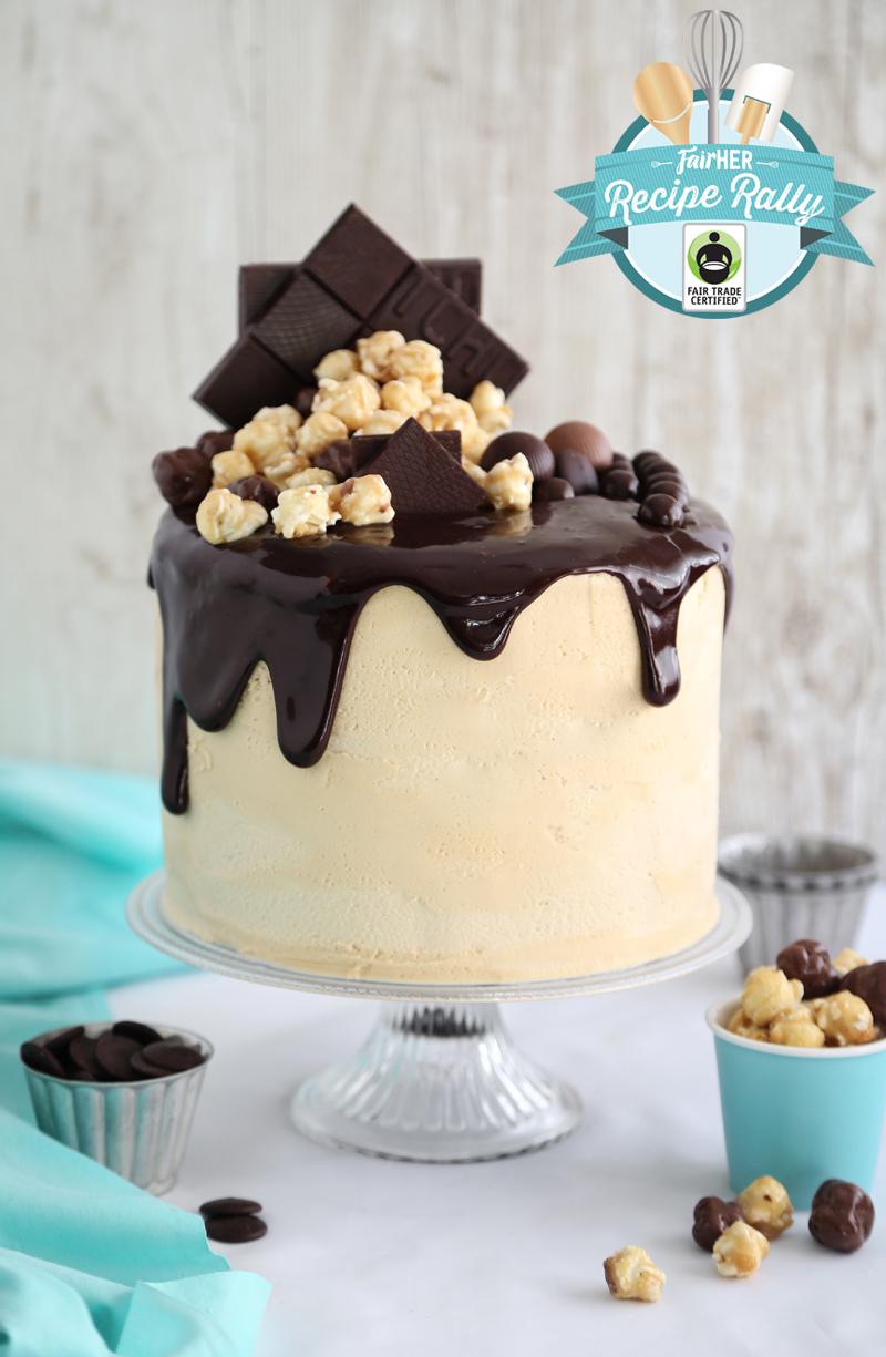 Caramel Chocolate Moxie Cake