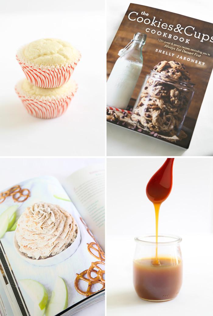 Pretzel Frosting Cupcakes