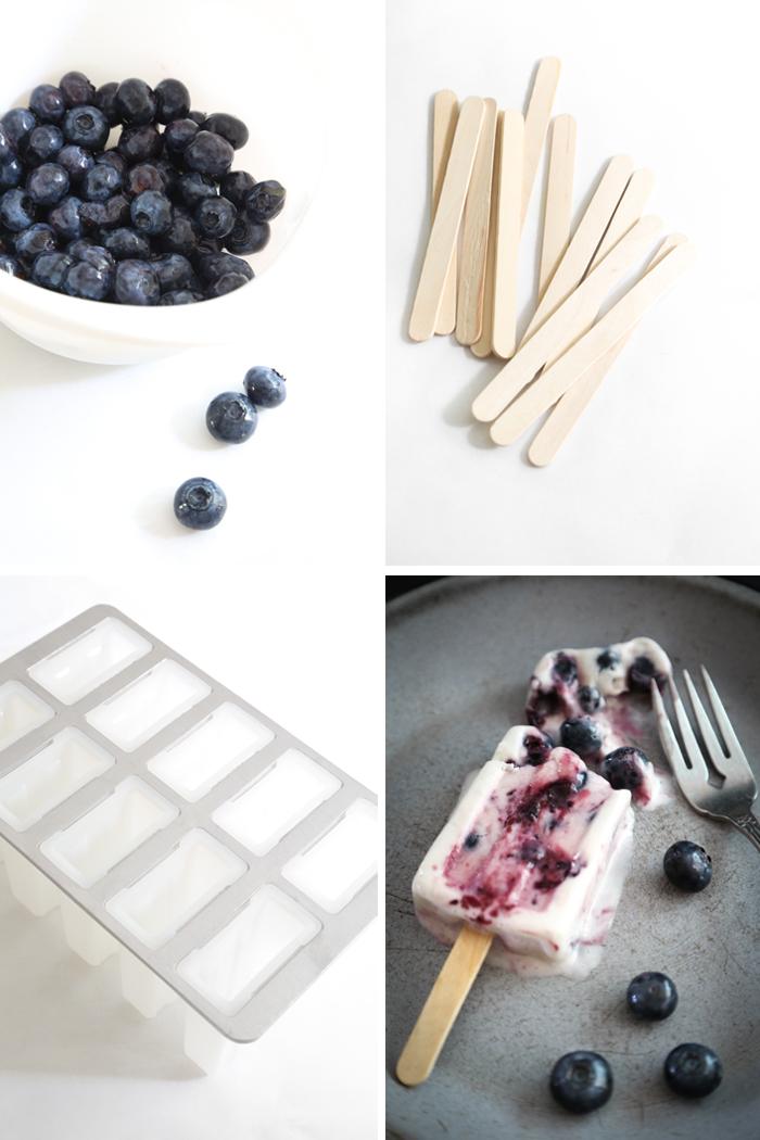 Blueberry Cheesecake Ice Pops