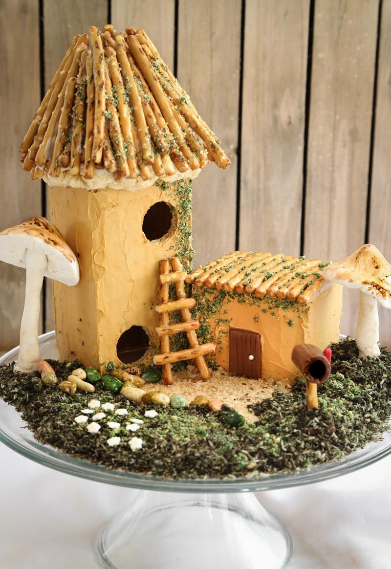 A Fantastical Fairy House You Can Eat