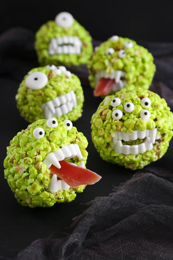 Monster Popcorn Balls