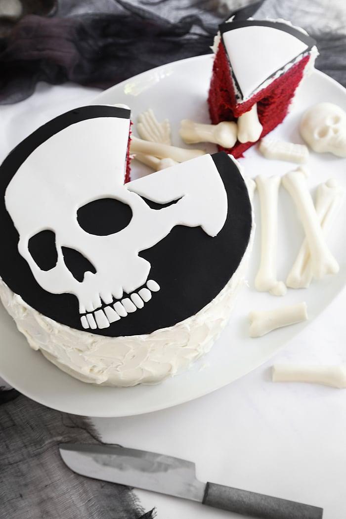 Skeleton Pinata Cake