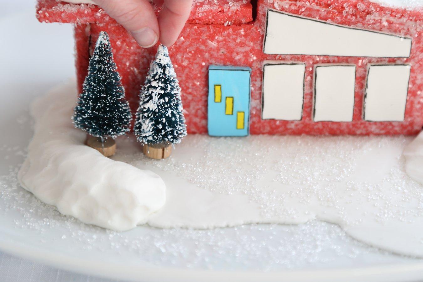 Make a Mid-Century Cookie Village