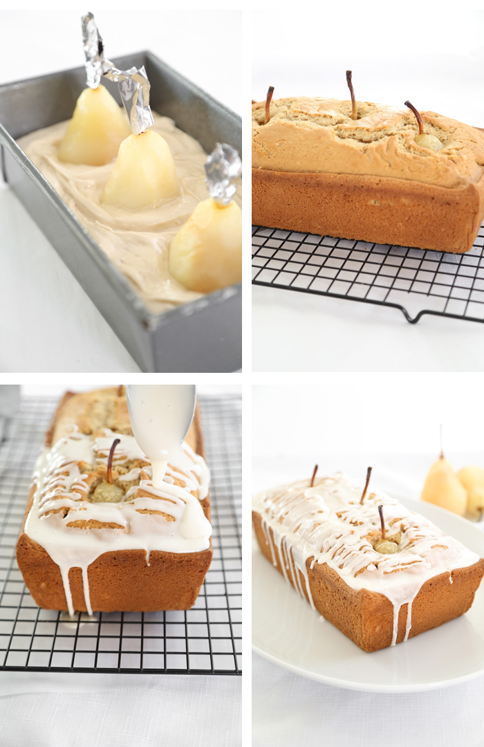 Poached Pear Lager Bread