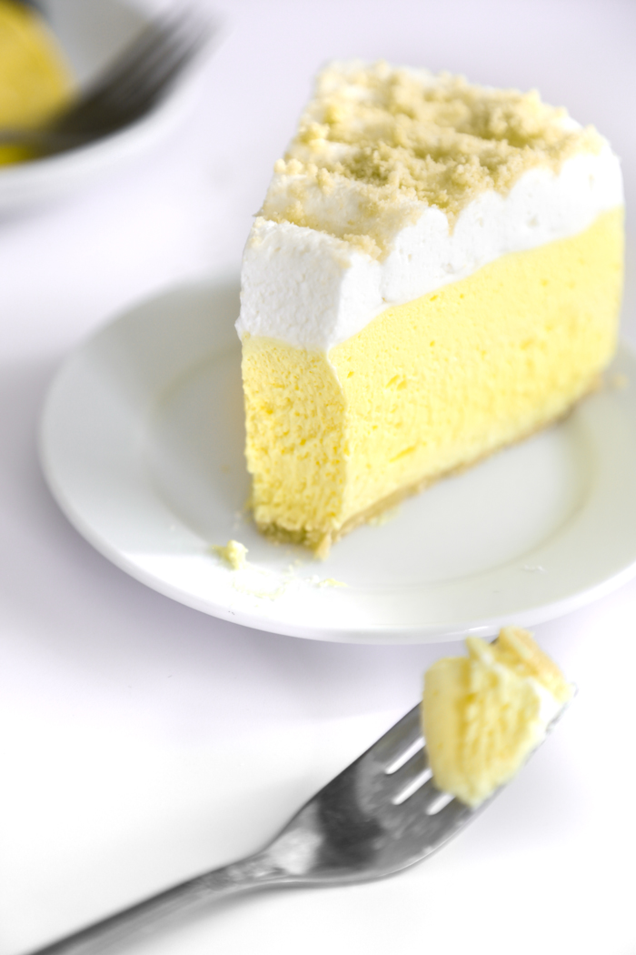 No-Bake Creamy Lemon Cheesecake