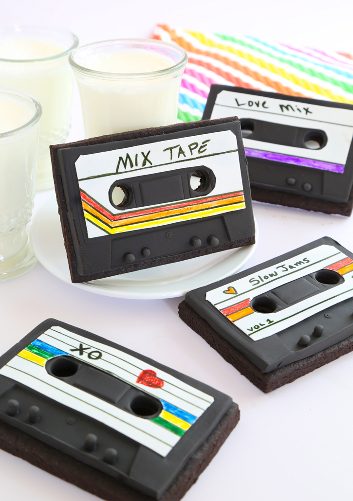 Mixtape Cookies for The Etsy Blog!