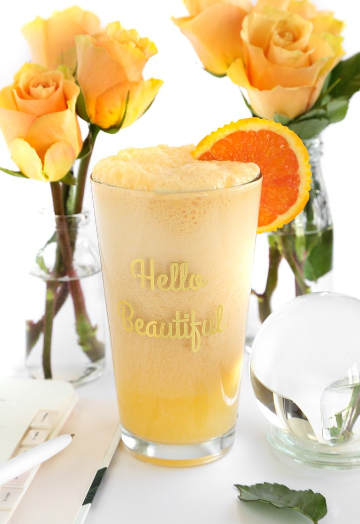 Orange Dreamsicle Frothy