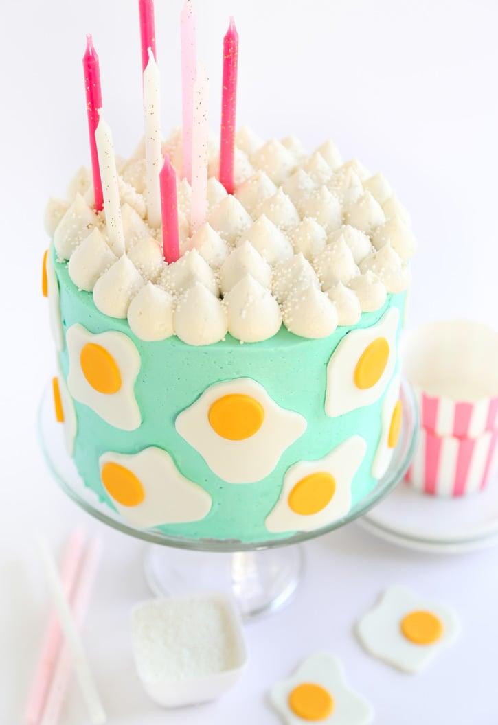 Vanilla Bean Egg Custard Cake