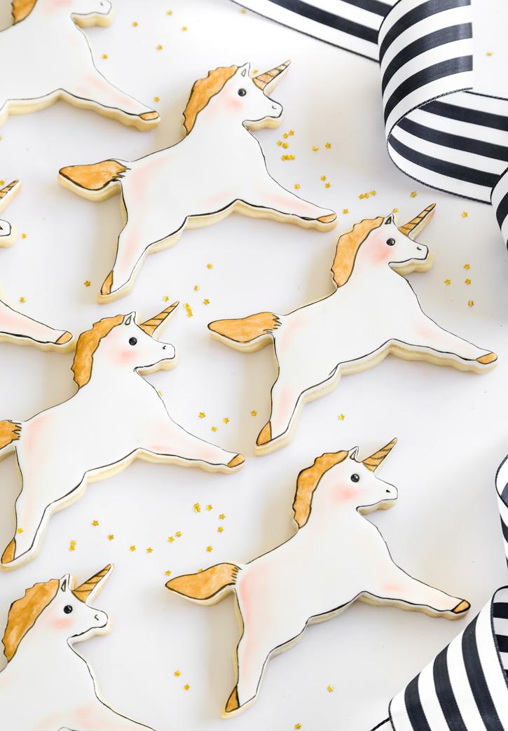 Unicorn Sugar Cookies