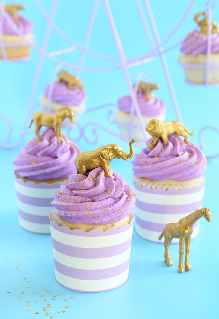 Lavender-Lemon Cupcakes