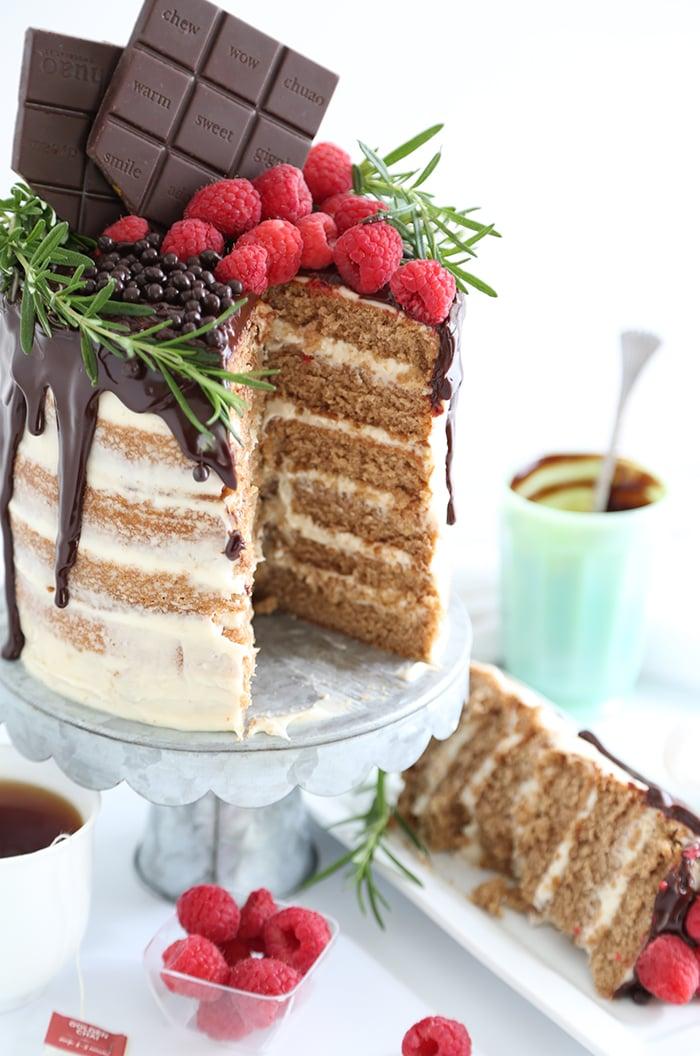 Golden Chai Layer Cake