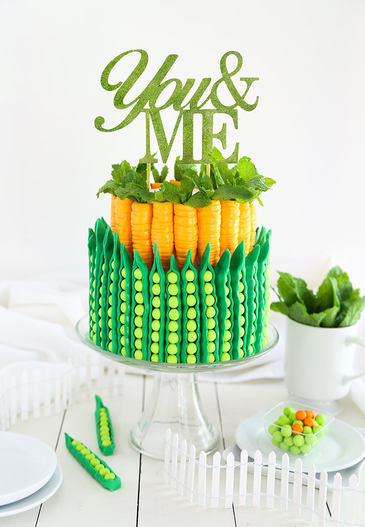 Peas and Carrots Cake