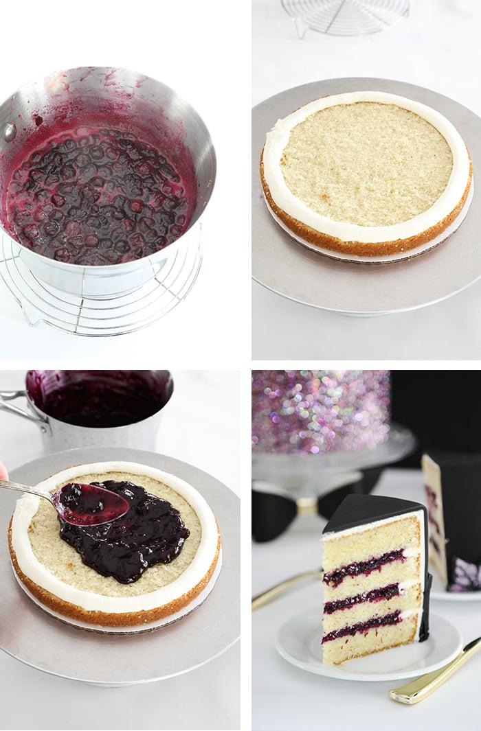 French Vanilla Glitterati Cake