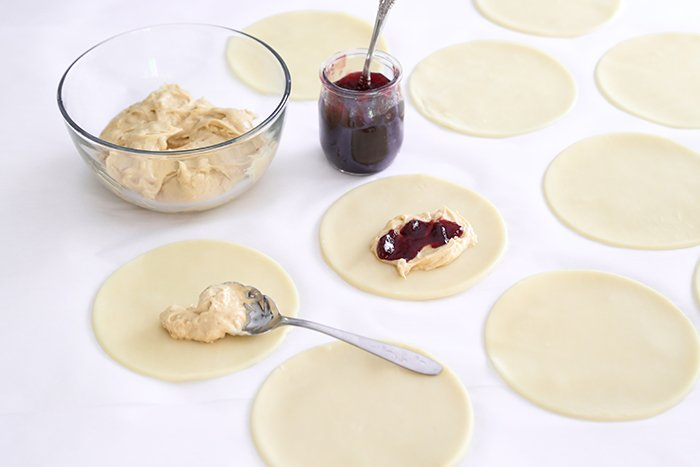 Peanut Butter and Jelly Hand Pies