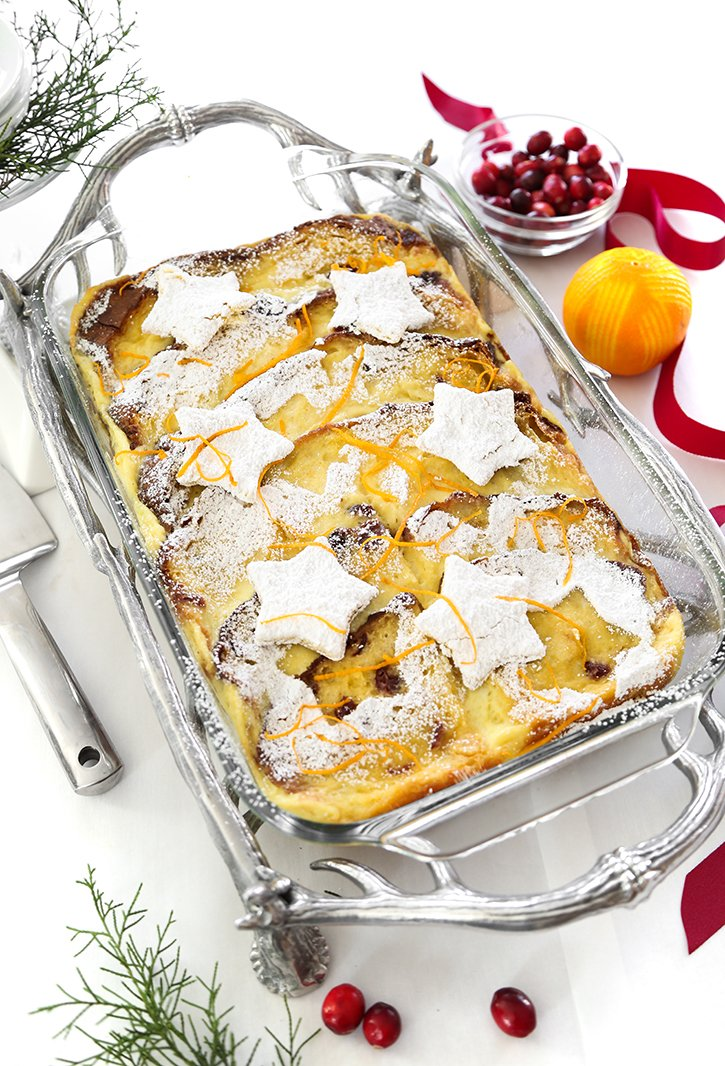 Panettone Baked French Toast