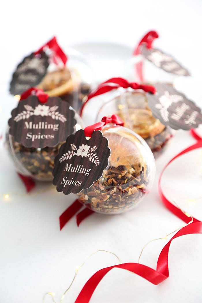 DIY Mulling Spice Ornaments