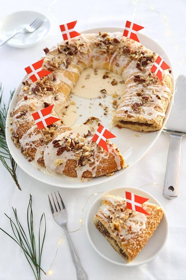 Old Danish Christmas Kringle (Dansk Smørkringle)