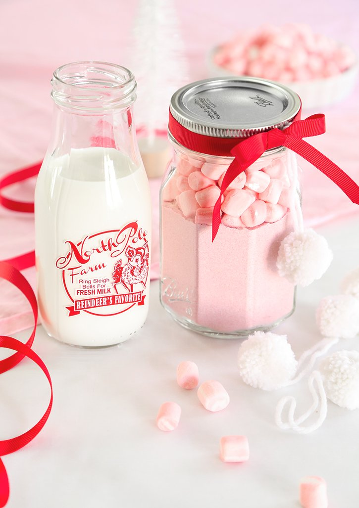 Instant Strawberry Hot Cocoa Mix