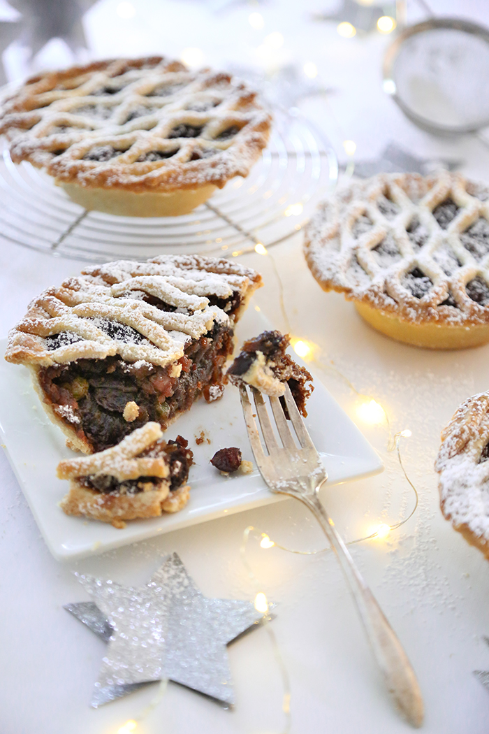 Mini Mince Pies with Homemade Mincemeat
