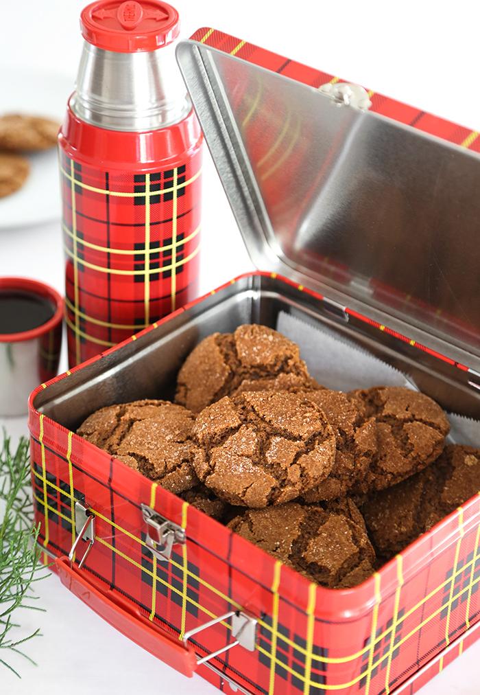 Smoked Brown Sugar Gingersnaps