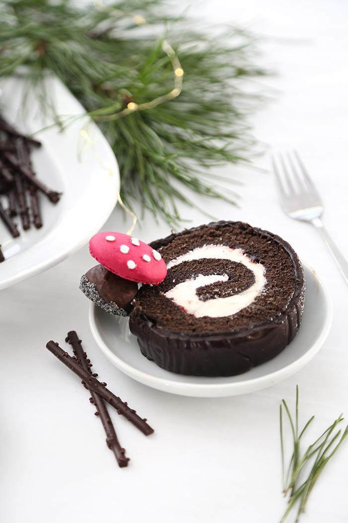 Black Forest Bûche de Noël