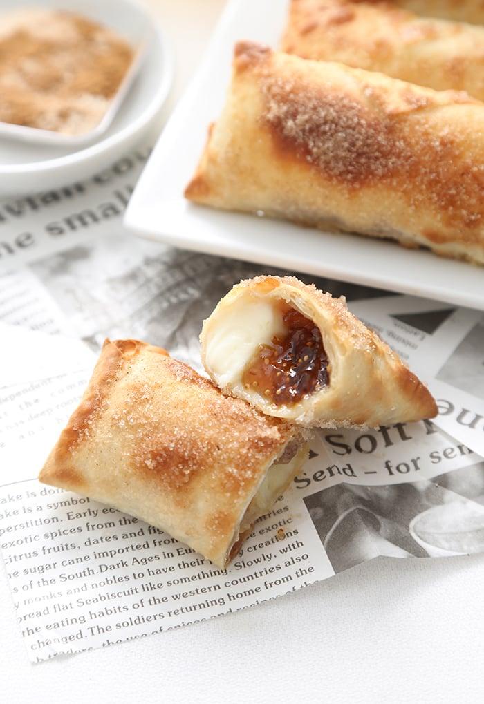Air Fryer Cheesecake Egg Rolls