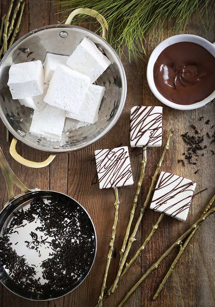 Gourmet Smoked Tea Marshmallows