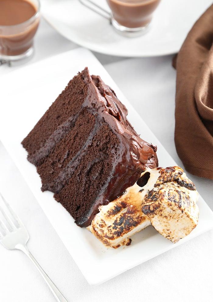 Hot Cocoa Layer Cake