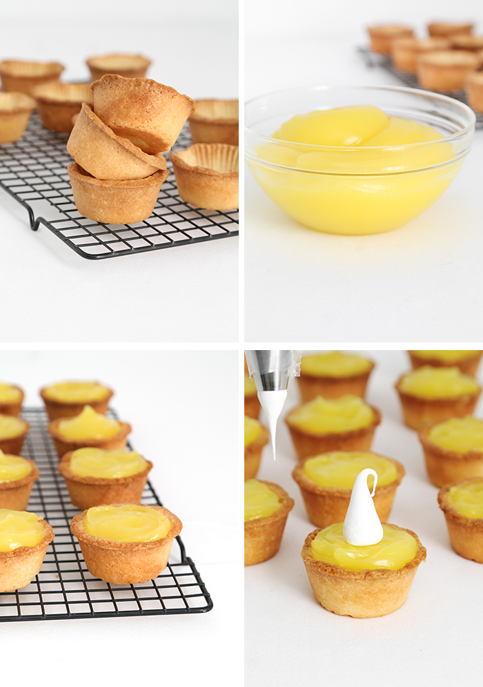 Mini Lemon Marshmallow Pies